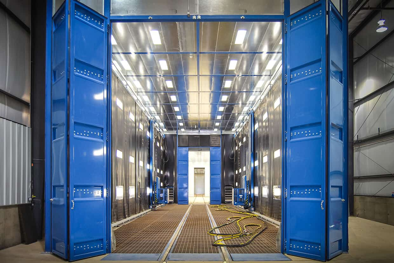 Modular Blast Rooms