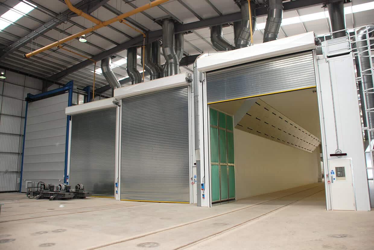 Rooms: Industrial Spray Booth And Oven