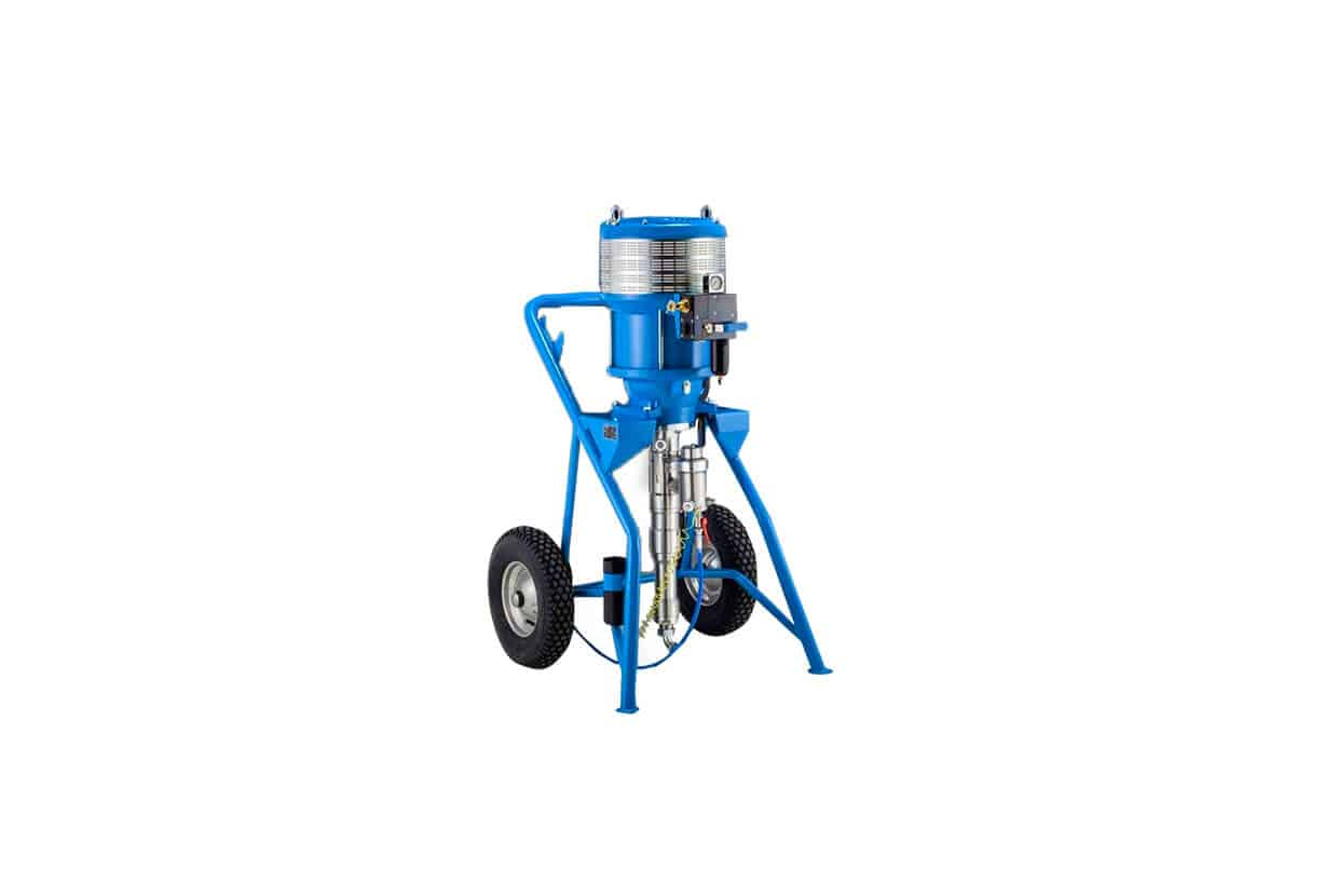 WIWA Paint Mixer supplied by Airblast
