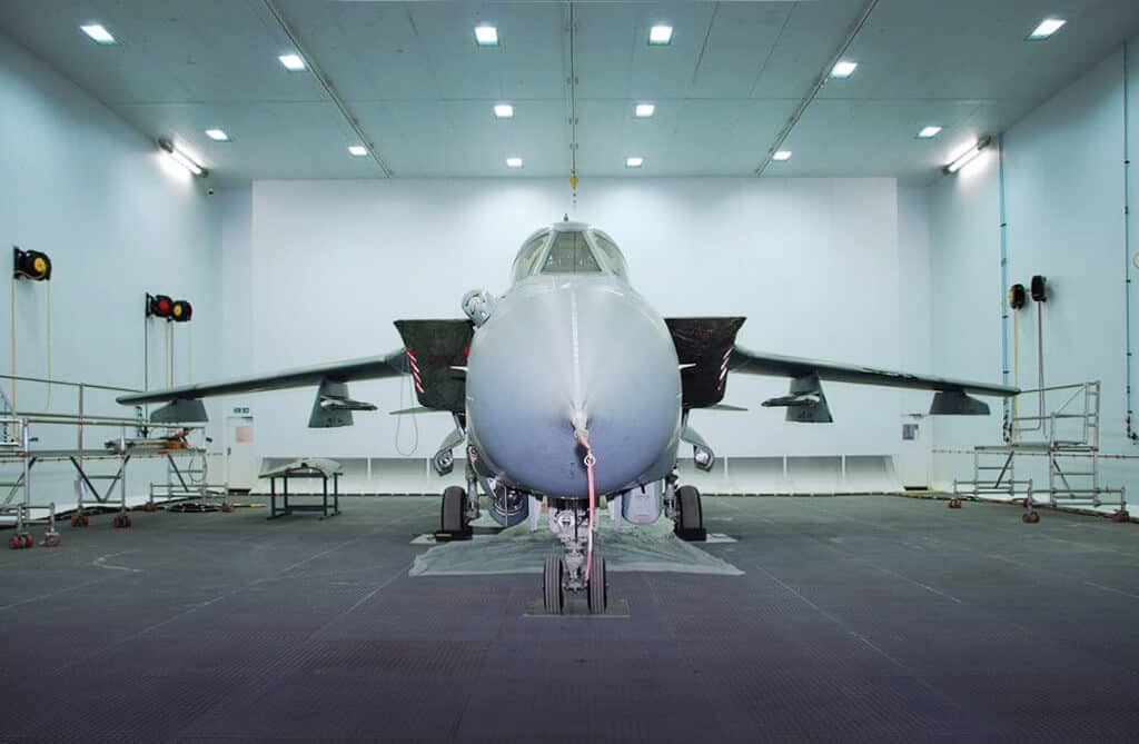 Airblast Create Surface Preparation and Finishing Facilities for Aircraft