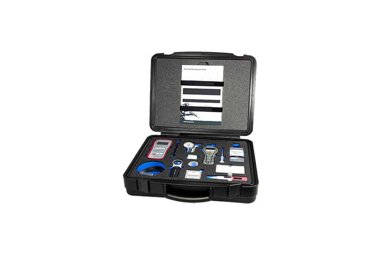 Airblast paint inspection kit