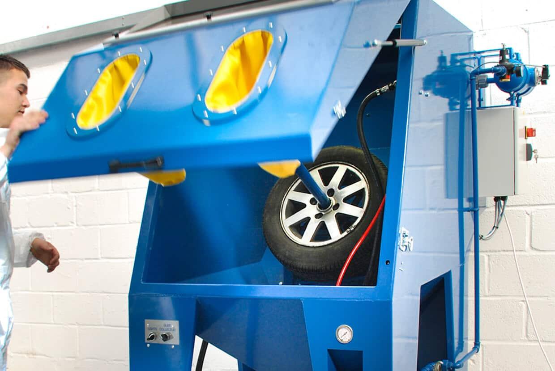 Airblast Wheel Blast Cabinet
