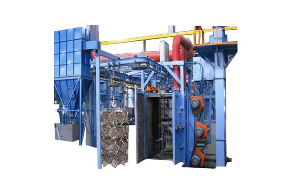 Shot Blasting Machines Q58